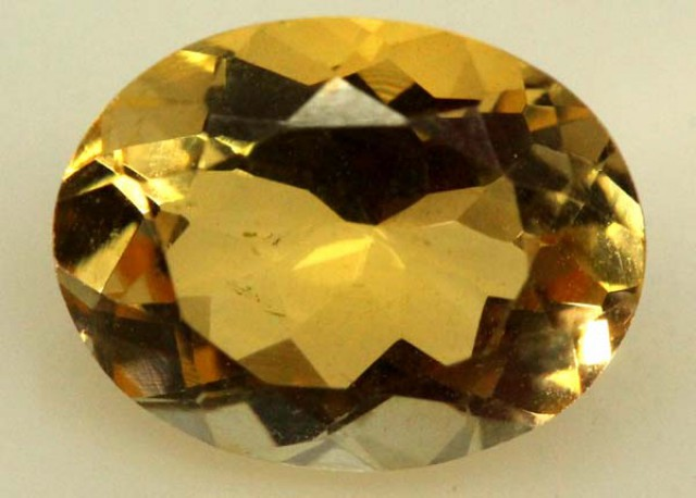 CITRINE FACETED NATURAL STONE 2.15 CTS  TBG-1779