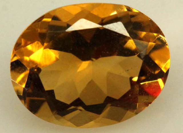 CITRINE FACETED NATURAL STONE 2.15 CTS  TBG-1776