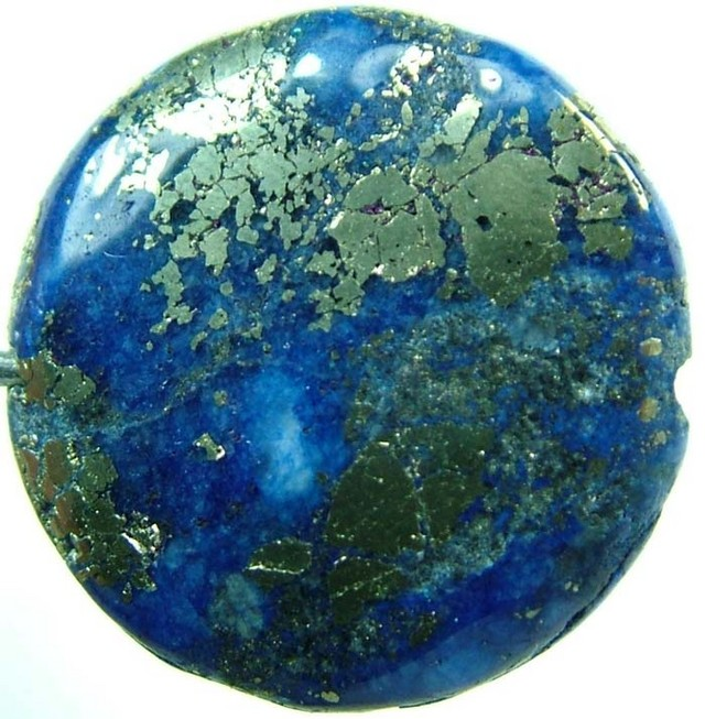 LAPIS LAZULI DRILLED  19.85 CTS [ST457]