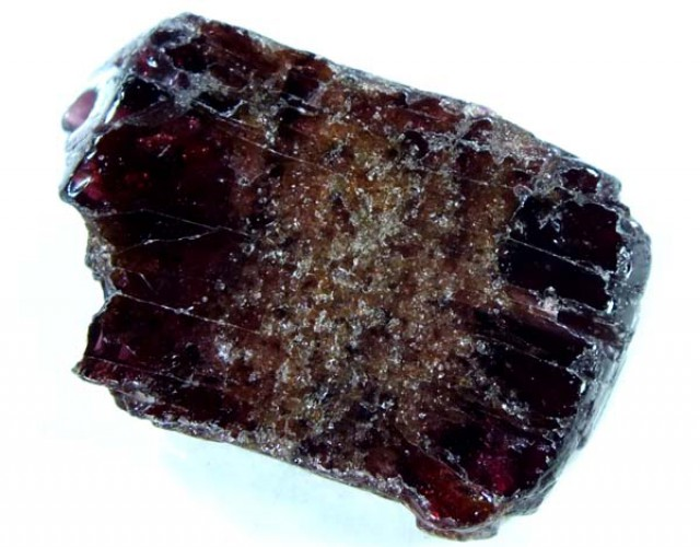 GARNET NATURAL BEAD DRILLED 21.35 CTS  NP-695