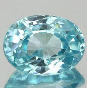 2.90 CARAT WEIGHT SEA BLUE ZIRCON, A NATURAL MINED GEM FROM CAMBODIA, SPECTAULAR QUALITY AND CLARITY