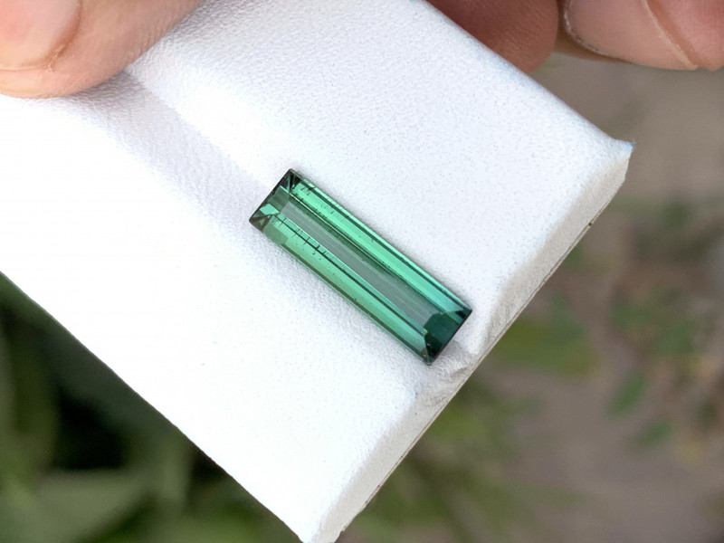 2.85 Ct Natural Greenish Blue Transparent Tourmaline Gemstone