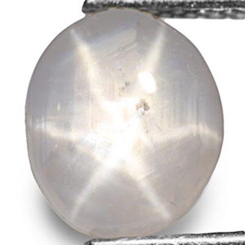 Sri Lanka Fancy Star Sapphire, 3.02 Carats, White Oval