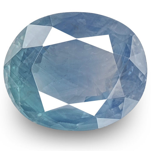 GIA Certified Kashmir Blue Sapphire, 5.04 Carats, Velvety Blue Oval