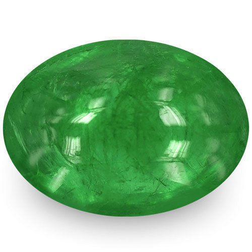 Zambia Emerald, 1.18 Carats, Velvety Deep Green Oval