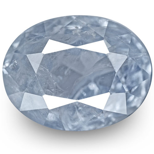 GIA Certified Kashmir Blue Sapphire, 2.69 Carats, Soft Velvety Blue Oval