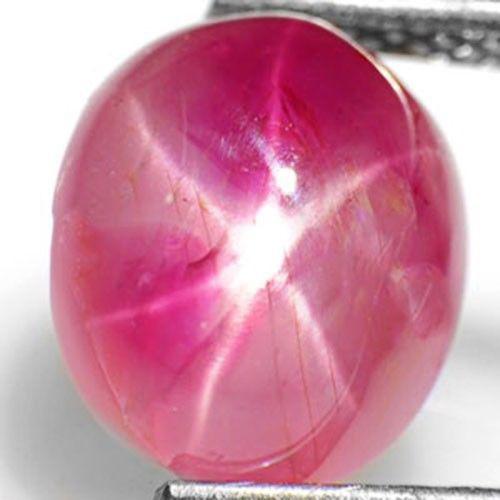 Burma Star Ruby, 3.66 Carats, Pinkish Orangish Red Oval