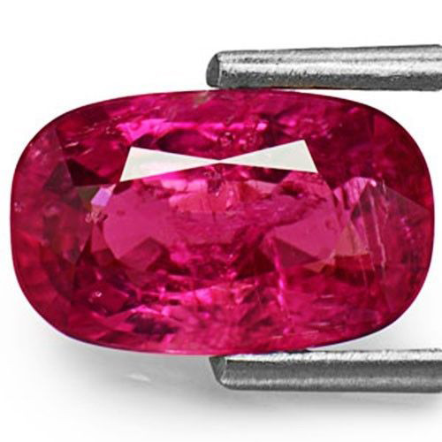 AIGS Certified Mozambique Fancy Sapphire, 2.44 Carats, Pinkish Purple Oval