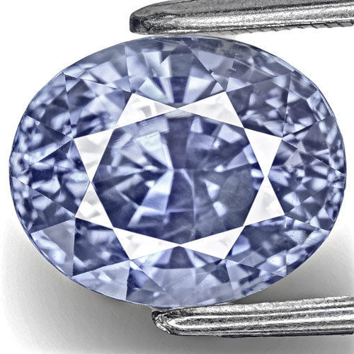 IGI Certified Sri Lanka Blue Sapphire, 6.04 Carats, Fiery Intense Blue Oval