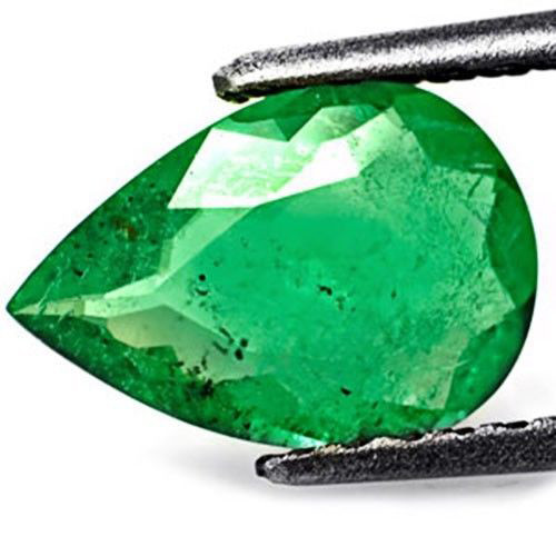 GII Certified Colombia Emerald, 1.40 Carats, Forest Green Pear