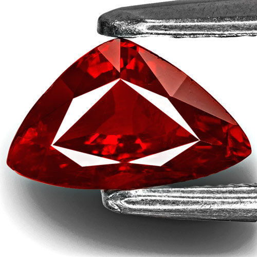 GRS Certified Mozambique Ruby, 1.02 Carats, Fiery Pigeon  Blood Red