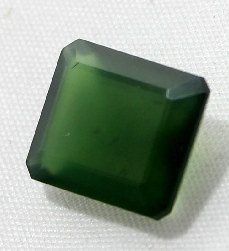 7.75 Crt Natural Serpentine Faceted Gemstone 24