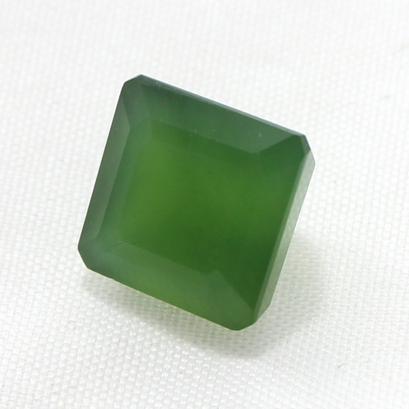 9.65 Crt Natural Serpentine Faceted Gemstone 35