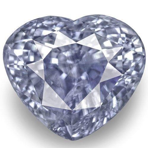 GIA Certified Sri Lanka Blue Sapphire, 4.67 Carats, Medium Blue Heart
