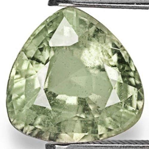 AIGS Certified Madagascar Fancy Sapphire, 3.67 Carats, Light Greyish Green