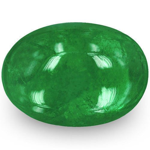 Zambia Emerald, 1.66 Carats, Deep Green Oval