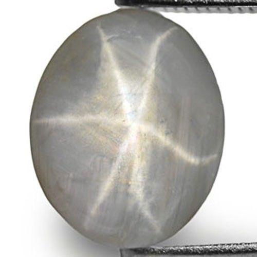 Sri Lanka Fancy Star Sapphire, 3.11 Carats, Grey Oval