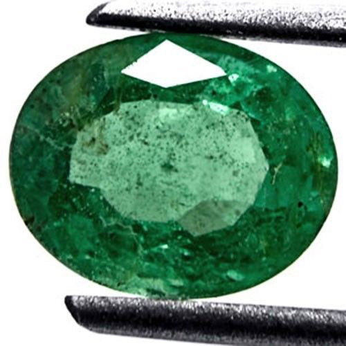 Zambia Emerald, 1.24 Carats, Grass Green Oval
