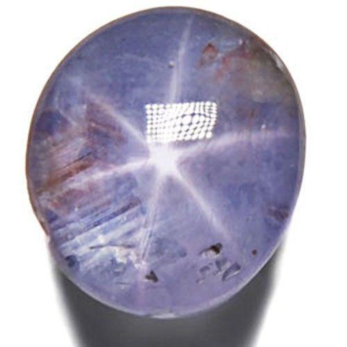 Sri Lanka Blue Star Sapphire, 3.99 Carats, Deep Blue Oval