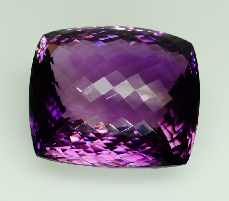 112.97 ct. Natural Top Nice Purple Amethyst Unheated Brazil
