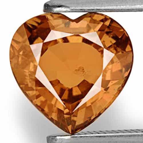 IGI Certified Tanzania Fancy Sapphire, 2.52 Carats, Deep Brownish Orange