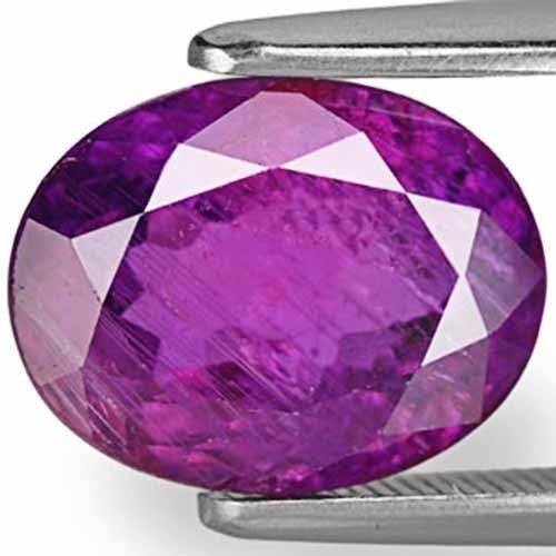 AIGS Certified Madagascar Fancy Sapphire, 5.12 Carats, Intense Deep Purple