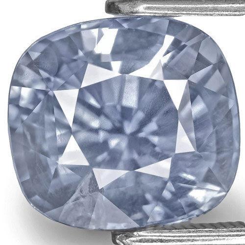 GIA & IGI Certified Kashmir Blue Sapphire, 5.14 Carats, Lustrous Blue