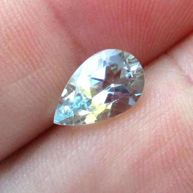 1.77cts Natural Aquamarine Pear Shape