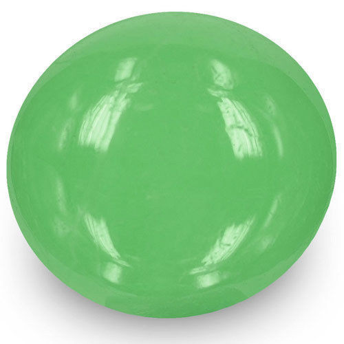 Colombia Emerald, 8.58 Carats, Lively Green Oval