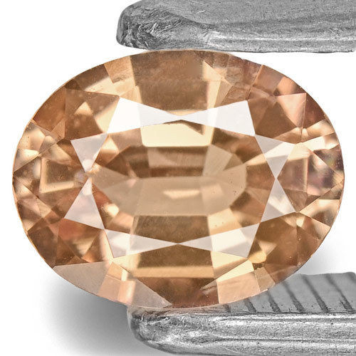 IGI Certified Sri Lanka Padparadscha Sapphire, 0.61 Carats, Pinkish Orange