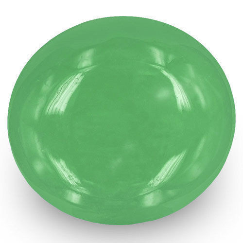 Colombia Emerald, 6.42 Carats, Lively Green Oval