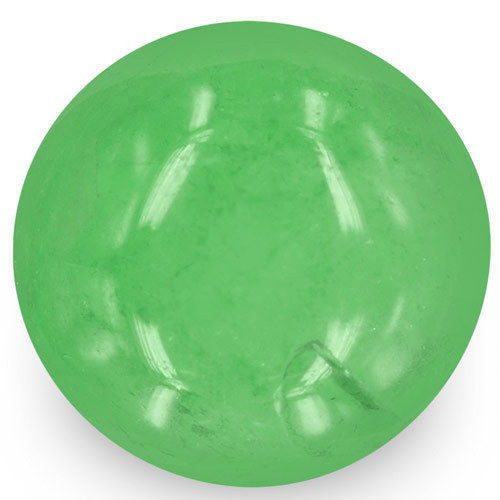 Colombia Emerald, 9.87 Carats, Bright Green Round