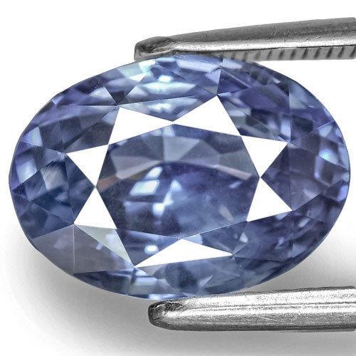 GII Certified Sri Lanka Blue Sapphire, 6.80 Carats, Velvety Intense Blue