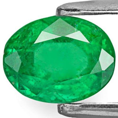 Brazil Emerald, 1.36 Carats, Royal Green Oval