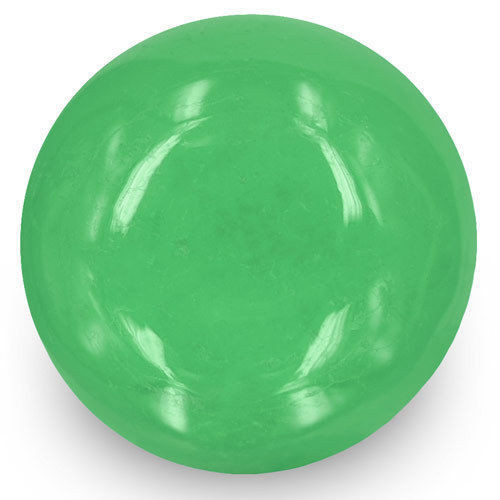 Colombia Emerald, 7.06 Carats, Lively Intense Green Round