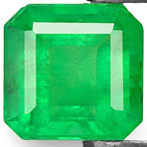 Colombia Emerald, 0.50 Carats, Grass Green Emerald Cut