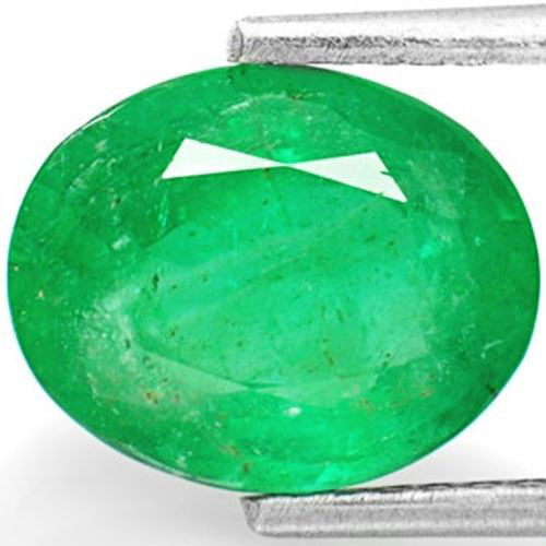 Zambia Emerald, 2.51 Carats, Dark Green Oval