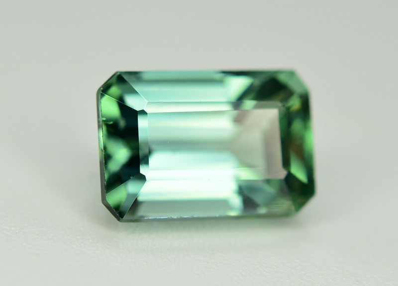 Superb Color 1.80 Ct Mint Green Tourmaline From Afghanistan. ARA1