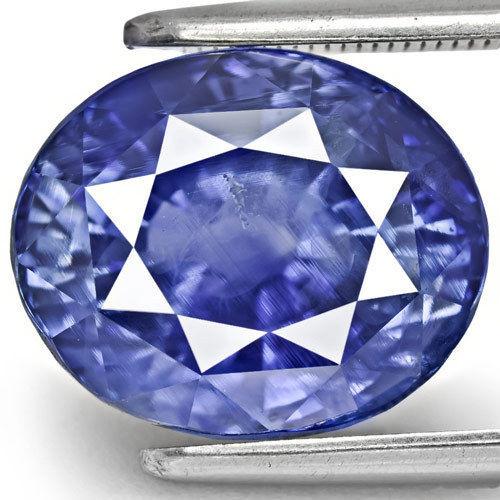 GIA Certified Kashmir Blue Sapphire, 10.94 Carats, Intense Blue Oval