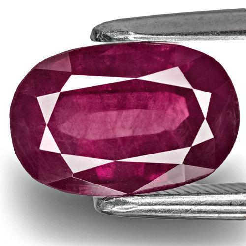 GIA Certified Pakistan Fancy Sapphire, 2.46 Carats, Deep Pinkish Purple