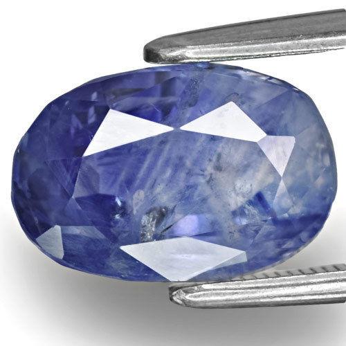 GIA & GRS Certified Kashmir Blue Sapphire, 6.37 Carats, Oval