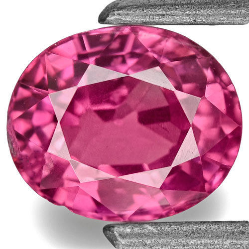 IGI Certified Burma Ruby, 0.90 Carats, Lively Pinkish Red Oval