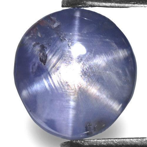 Sri Lanka Fancy Star Sapphire, 3.88 Carats, Purplish Blue Oval