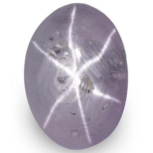 IGI Certified Sri Lanka Fancy Star Sapphire, 6.13 Carats, Violetish Purple