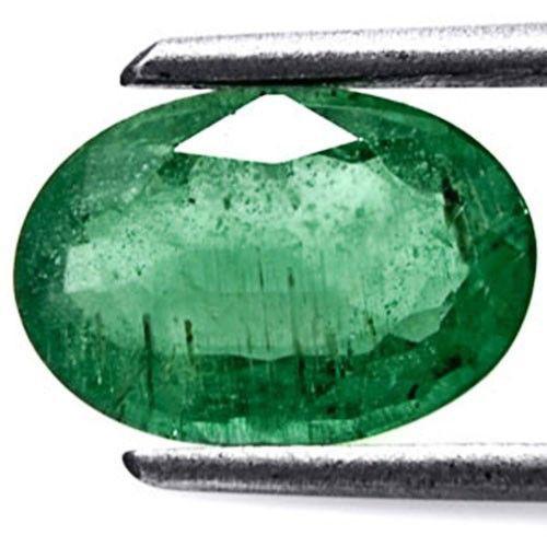 Zambia Emerald, 1.50 Carats, Dark Green Oval