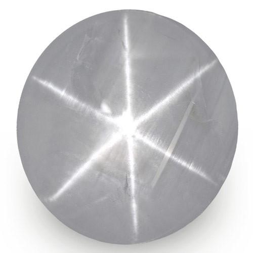 IGI Certified Sri Lanka Fancy Star Sapphire, 8.08 Carats, Violetish Grey