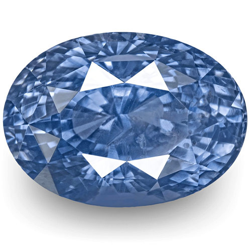 GIA Certified Sri Lanka Blue Sapphire, 11.77 Carats, Fiery Blue Oval