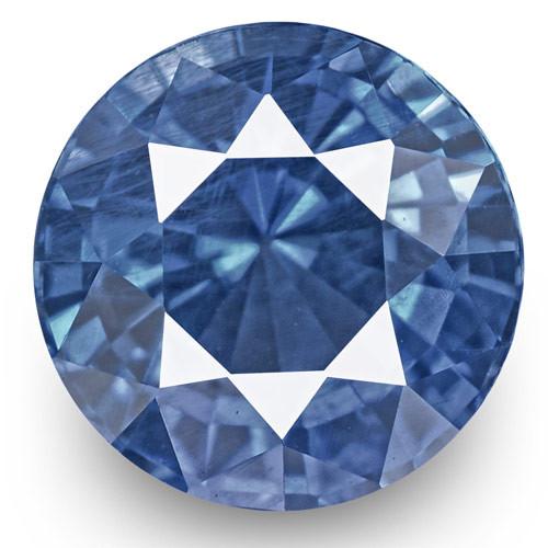 IGI Certified Burma Blue Sapphire, 1.24 Carats, Lively Cornflower Blue