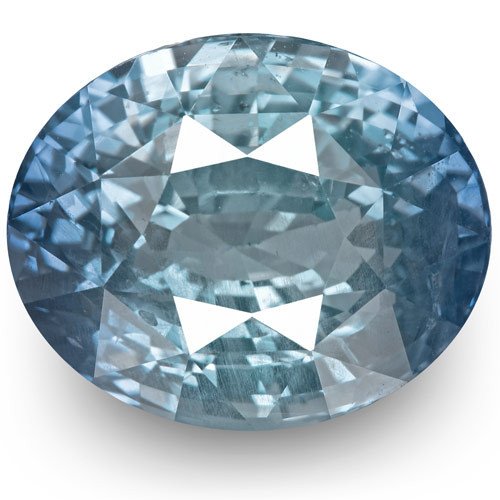GIA Certified Sri Lanka Blue Sapphire, 7.13 Carats, Lustrous Blue Oval