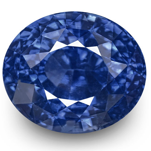 GIA & GRS Certified Madagascar Blue Sapphire, 5.84 Carats, Oval